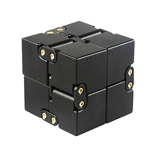 Infinity-Cube-Aluminium-Alloy-Infinity-Fidget-Cube-Toy-Anti-Stress-and-Anxiety-Relief-Killing-Time-Toys-Great-for-Travel-Home-Office-School-0