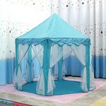Intency-PrincessPrince-Castle-Kids-Play-Tent-Large-Portable-Children-Playhouse-with-Led-Star-Lights-for-Boys-Girls-Toddlers-0-2