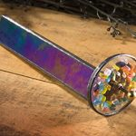 J-Devlin-Kal-102-Tumble-Wheel-Kaleidoscope-Black-Iridescent-with-Glass-Chips-0