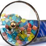 J-Devlin-Kal-103-Tumble-Wheel-Kaleidoscope-Blue-with-Glass-Chips-0-1