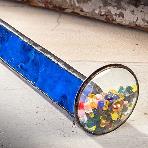 J-Devlin-Kal-103-Tumble-Wheel-Kaleidoscope-Blue-with-Glass-Chips-0-2