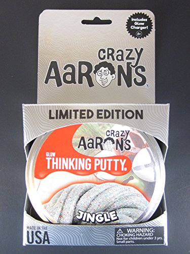 JINGLE-Holiday-GLOW-in-Dark-Sparkles-Crazy-Aarons-Thinking-Putty-LARGE-Tin-0-0