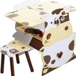 KA-Company-Child-Mutifunctional-Drawing-Board-Easel-Creative-Desk-Stool-Art-Studio-Set-Kids-Kid-0-0