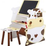 KA-Company-Child-Mutifunctional-Drawing-Board-Easel-Creative-Desk-Stool-Art-Studio-Set-Kids-Kid-0