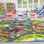 KC-CUBS-Playtime-Collection-Road-Map-Educational-Learning-Area-Rug-Carpet-For-Kids-and-Children-Bedroom-and-Playroom-0-0