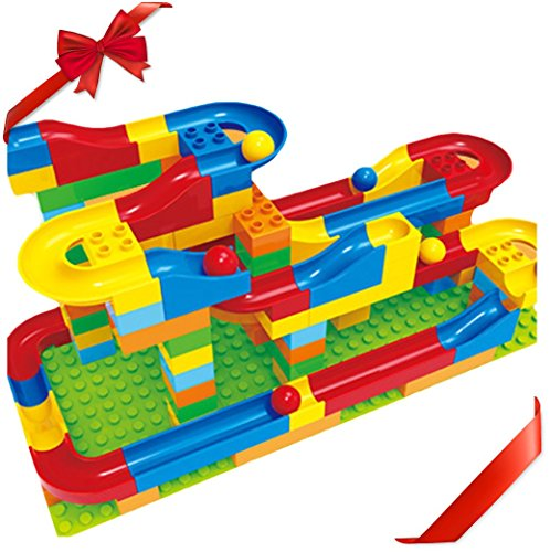 Toy Building Set For Boys : Kengadget marble run crazy ball stem toys piece