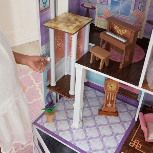 Kidkraft Country Estate Deluxe Wooden 4 Tall Dollhouse W