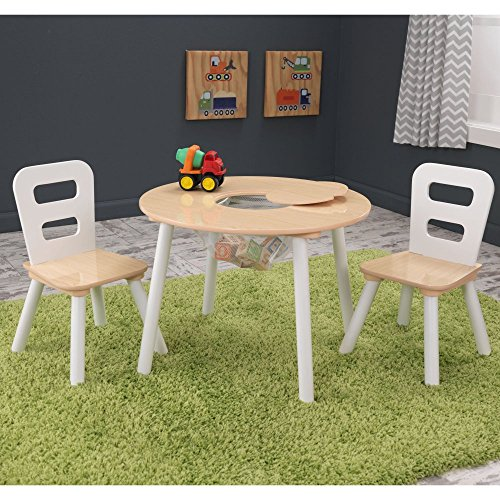 KidKraft-Round-Table-2-Chair-Set-Natural-White-27027-0