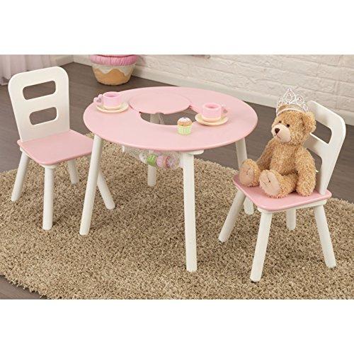 KidKraft-Round-Table-2-Chair-Set-Pink-White-26165-0-1