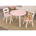 KidKraft-Round-Table-2-Chair-Set-Pink-White-26165-0