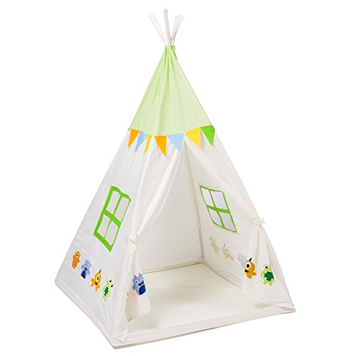 Kids Teepee Children Play Tent Children S Foldable Play