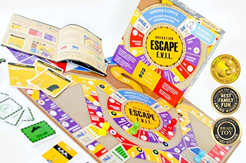 Toys For Kids 8 10 : Kitki escape evil fun educational board games stem toys on