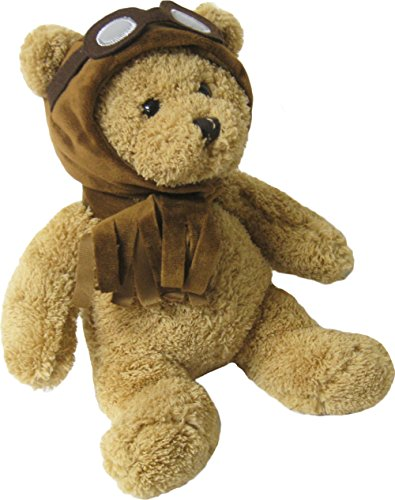 Kreative-Kids-Adorable-Aviator-Pilot-Bear-Rolling-Backpack-w-Removable-Stuffed-Toy-Wheels-0-2