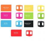 LVHERO-11-Pcs-Different-Colors-Fiddle-Blox-Fidget-Cube-Dice-Toy-with-11-Pcs-Protective-Case-A-Fun-Way-to-Relieve-Stress-and-Anxiety-or-ADHD-for-Children-and-Adults-Anxiety-Attention-BEST-QUALITY-0-1