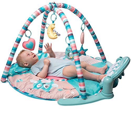 Large Baby Play Mat Gym With Extra Soft Mat Piano
