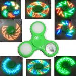Laser-LED-hand-spinner-top-with-18-styles-verify-picture-onoff-buttom-6pcsset-0