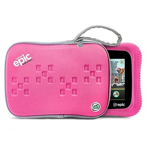 LeapFrog-Epic-Academy-Edition-7-Android-20-Based-Kids-Tablet-16GB-with-Carrying-Case-Pink-0-0