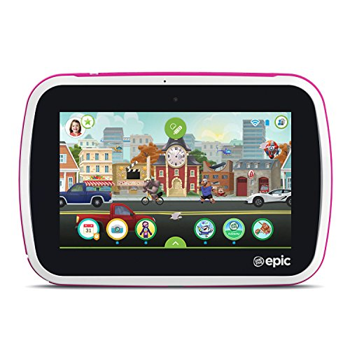 LeapFrog-Epic-Academy-Edition-7-Android-20-Based-Kids-Tablet-16GB-with-Carrying-Case-Pink-0-1