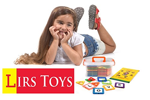 Creativity Toys For Boys : Lirs toys pcs magnetic blocks tiles