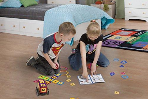MAGBUILDER 66 Pieces Magnetic Blocks Toy - STEM learning ...