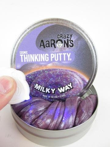 MILKY-WAY-Crazy-Aarons-Thinking-Putty-COSMIC-Glow-in-the-Dark-Glitter-Purple-4-32-Oz-Made-in-the-USA-Age-8-0-0