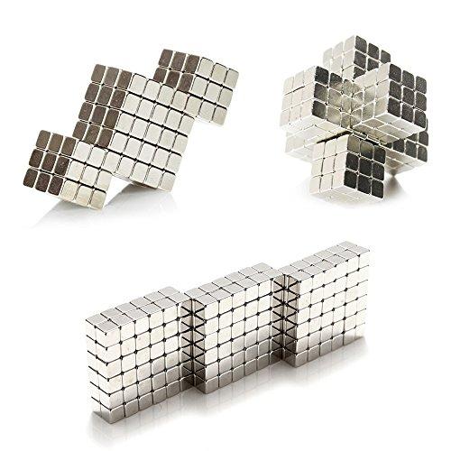 Magnetic Cube 216pcs Rolytoy 5mm Magnets Blocks Magnetic