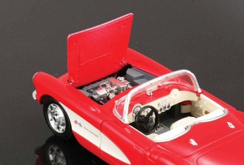 Maisto-124-Scale-Assembly-Line-1957-Chevrolet-Corvette-Diecast-Model-Kit-0-1