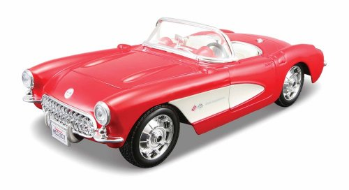 Maisto-124-Scale-Assembly-Line-1957-Chevrolet-Corvette-Diecast-Model-Kit-0