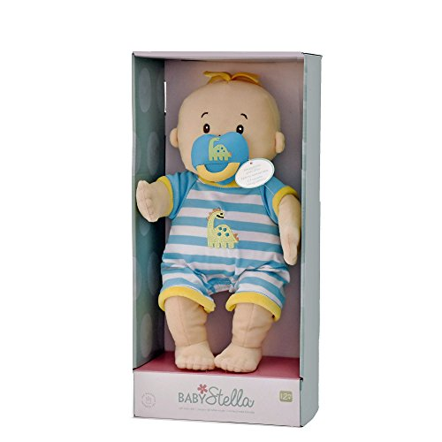 15and Up Toys For Everyone : Manhattan toy baby stella boy soft first doll for