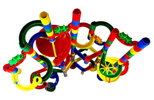 Marble Madness Super Deluxe 120 Pc Marble Run Hobby