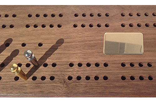 Mariner-Classic-Domino-Set-with-Black-Walnut-Case-Premium-Quality-28-Indestructible-Double-Six-Dominoes-with-2-18-Karat-Gold-plated-and-2-Nickel-plated-Scoring-Pegs-0-2