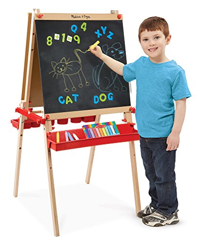 Melissa Amp Doug Deluxe Magnetic Standing Art Easel With