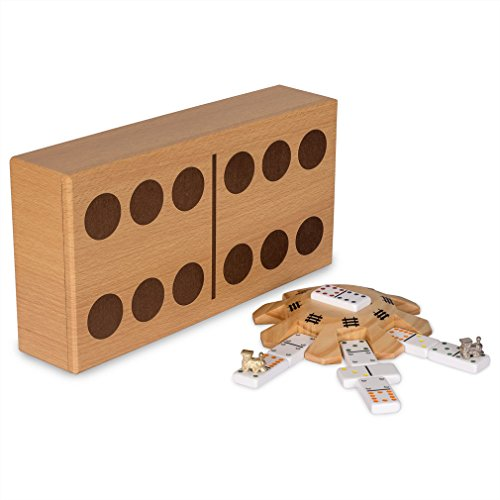 Mexican-Train-Dominoes-Game-Set-Double-12-Dominoes-Case-Hub-Train-Markers-Scorepad-and-Instruction-Manual-0