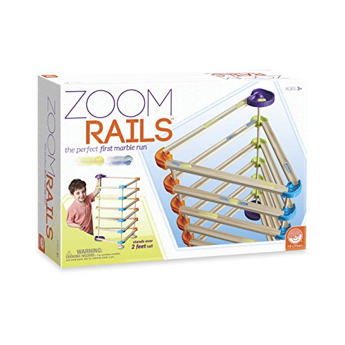 Mindware Zoom Rails Wooden Marble Track Hobby Leisure Mall