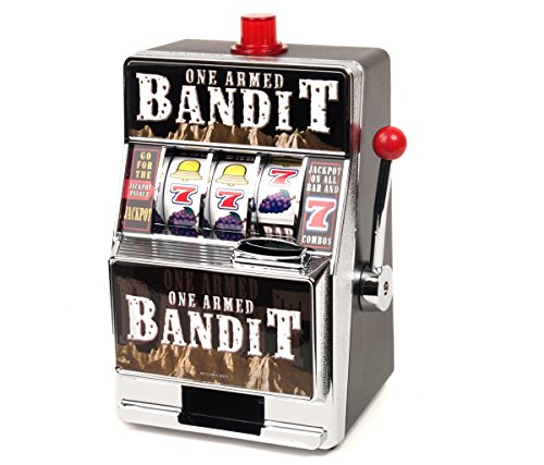 Mozlly-Multipack-610-Products-Spinning-Bandit-Slot-Machine-Savings-Bank-Money-Storage-Novelty-Bank-Pack-of-2-Item-S119001X2-0