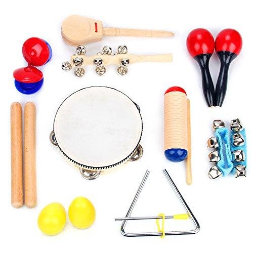 Musical Instrument Set 16 Pcs Rhythm Amp Music Education