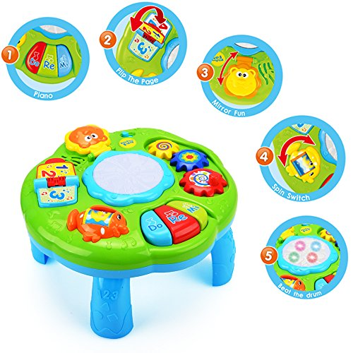 Musical Learning Table Baby Toy - Electronic Education ...