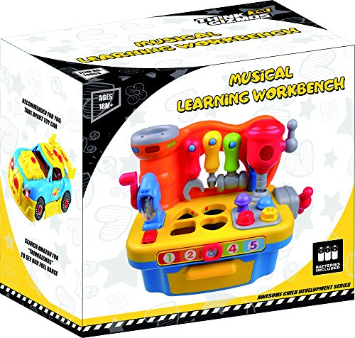 Musical Toys For Toddlers Boys : Musical workbench toy for toddlers tg interactive