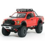 NEW-124-WB-MAISTO-OFF-ROAD-KINGS-COLLECTION-RED-2017-FORD-F-150-RAPTOR-Diecast-Model-Car-By-Maisto-0