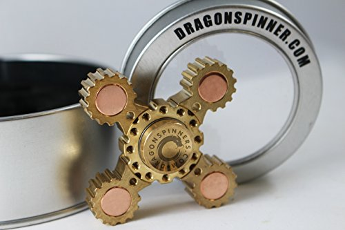 NEW-2017-ORIGINAL-DRAGON-SPINNER-4-Winged-Brass-Hand-Fidget-Spinner-Toy-EDC-Luxury-Helps-You-Focus-And-Reduce-Stress-SPINS-UP-TO-6-MINUTES-0-1