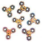 PREMIUM-Emoji-Party-Supplies-Bundle-36-Items-incl-6-Fidget-Hand-Spinners-6-Backpacks-12-Plush-Backpack-Clips-12-Rubber-Bracelets-1-BONUS-Item-0-0