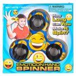 PREMIUM-Emoji-Party-Supplies-Bundle-36-Items-incl-6-Fidget-Hand-Spinners-6-Backpacks-12-Plush-Backpack-Clips-12-Rubber-Bracelets-1-BONUS-Item-0-1