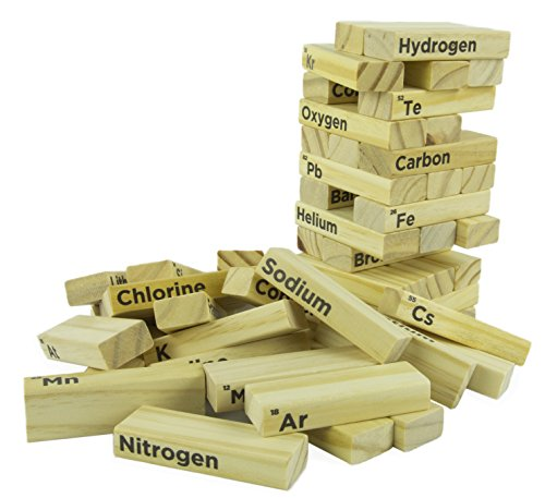 Periodic-Table-Wood-Block-Tower-Stacking-Game-Classic-Game-for-Kids-Adults-Making-Chemistry-Fun-to-Learn-54-Pieces-0-0