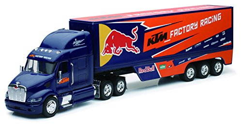 Peterbilt-KTM-Factory-Racing-Team-Truck-Red-Bull-132-by-New-Ray-10693-0
