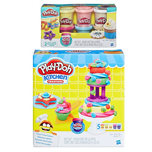 Play-Doh Kitchen Creations Frost N' Fun Cakes Play Set