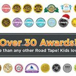 PlayTape-Road-Rally-Road-and-Curve-Assortment-for-5-7-Kids-Road-Car-Tape-Great-for-Kids-Sticker-Roll-for-Cars-and-Train-Sets-Stick-to-Floors-and-Walls-Quick-Cleanup-Children-Toys-Birthday-Gift-0-2