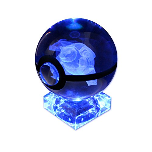 Pokemon Go K9 Crystal Ball Pokeball Night Lights 7 Color