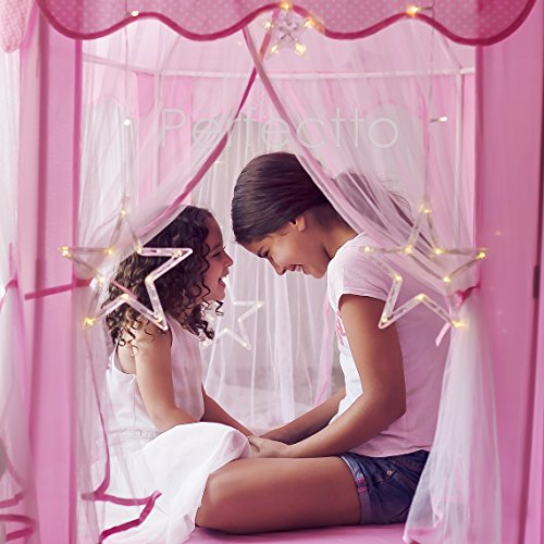 Princess-Castle-Tent-with-Large-Star-Lights-String-Durable-Girls-Play-Tent-for-Indoor-and-Outdoor-Games-Stimulate-Pretend-and-Imaginative-Play-Have-Fun-in-the-Cute-Pink-Princess-Tent-with-Lights-0-2