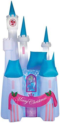 Projection-Airblown-Cinderella-Castle-Decoration-0