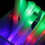 Promotional-Party-Sticks-LED-Foam-Stick-Baton-Multicolor-Foam-Baton-for-Birthday-Party-Favors-Weddings-And-Raves-100-Sticks-0